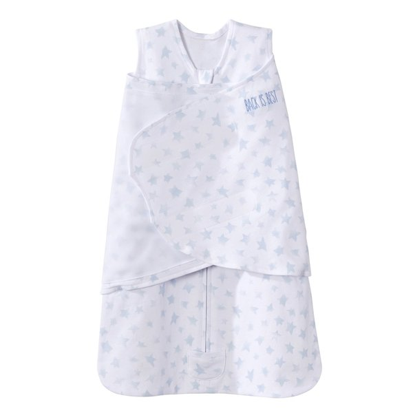 View larger image of Platinum Swaddle – Pale Blue
