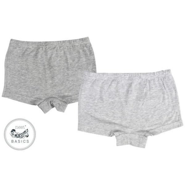 View larger image of Girls Boy Short Underwear - 2 Pack