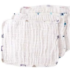 Six Layer Baby Wash Cloth Set - 3 Pack