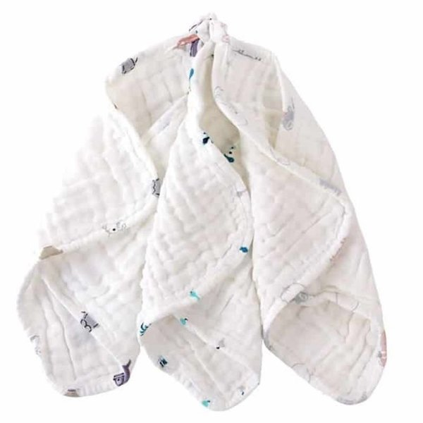 View larger image of Six Layer Baby Wash Cloth Set - 3 Pack