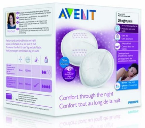 View larger image of Night Breast Pads 20ct