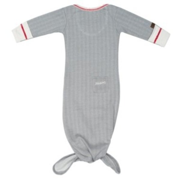 View larger image of Nightie - Driftwood Grey - 0-3 Months