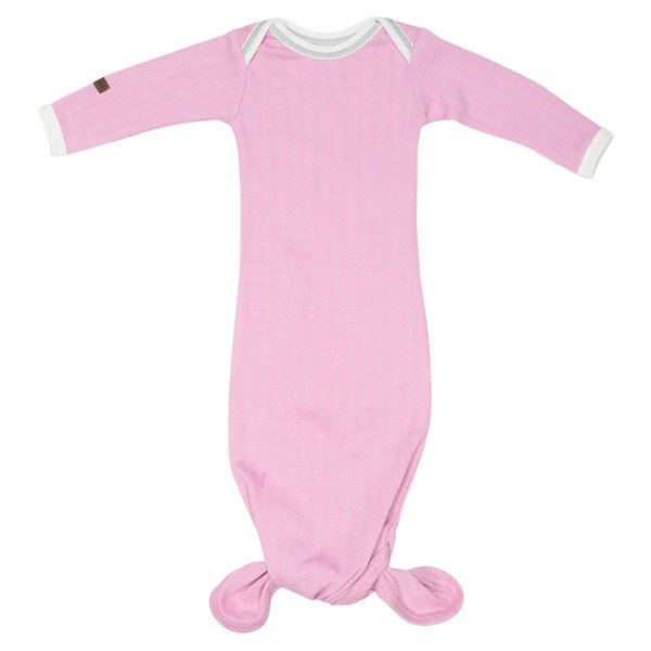 View larger image of Nightie - Sunset Pink - 0-3 Months