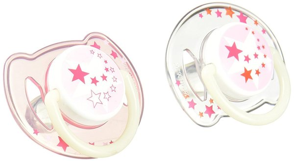 View larger image of Nighttime Silicone Pacifier - 6-18 Months - Pink