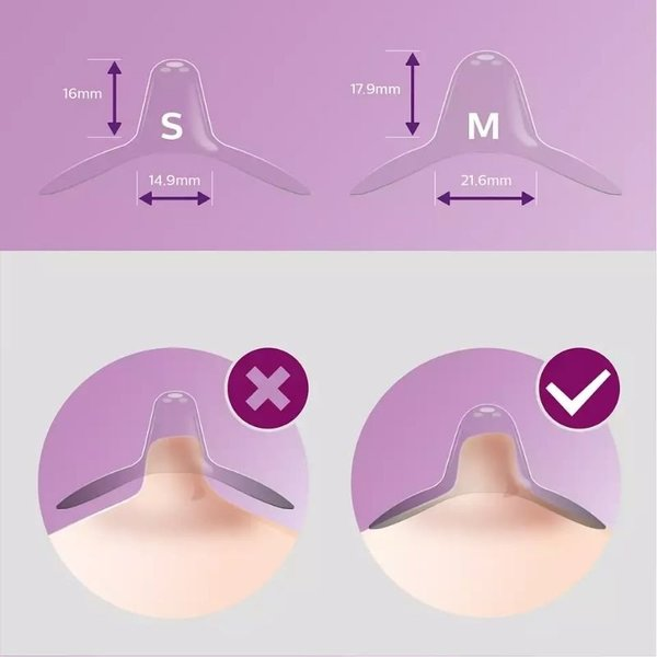 View larger image of Nipple Shields with Case - Medium