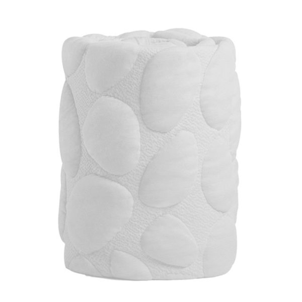 View larger image of Pure Organic Crib Mattress Cover- Blush