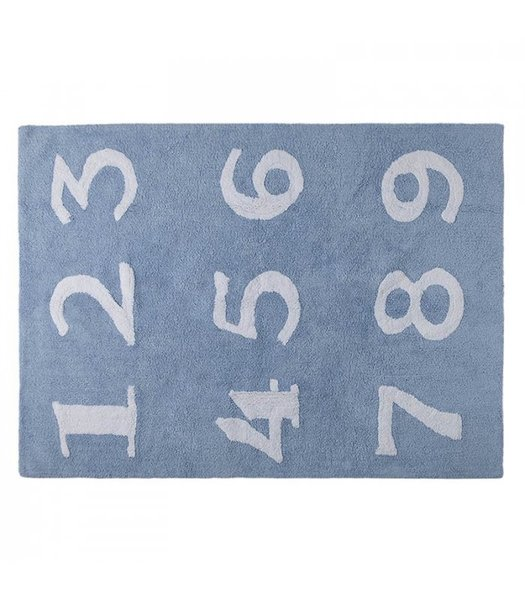 View larger image of Numbers Area Rug - Blue