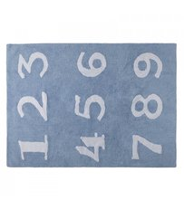 Numbers Area Rug - Blue