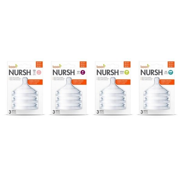 View larger image of NURSH Nipples - 3 Pack