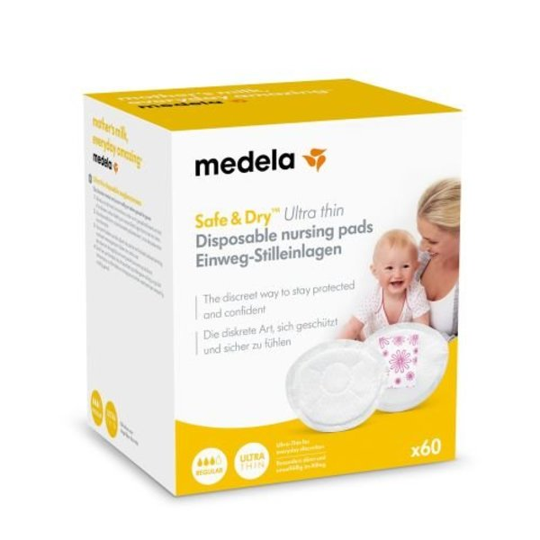 View larger image of Safe & Dry Ultra Thin Nursing Pads