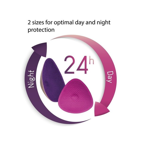 View larger image of Essential Curve Washable Nursing Pads - Night