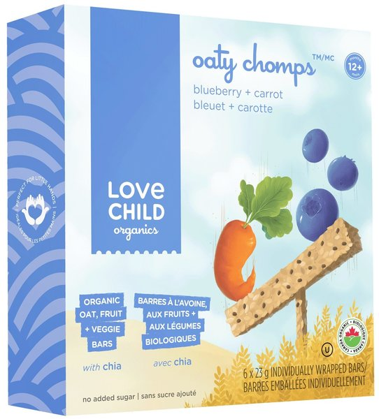 View larger image of Oaty Chomps - Blueberry & Carrot