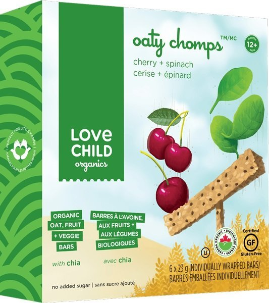 View larger image of Oaty Chomps - Cherry & Spinach