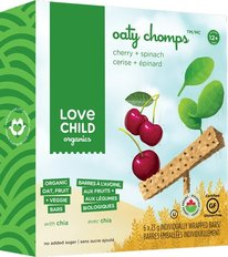 Oaty Chomps - Cherry & Spinach