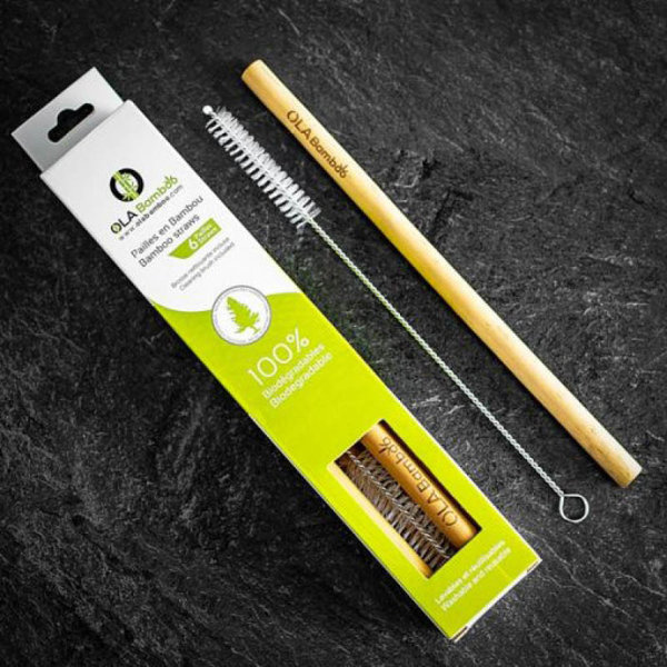 View larger image of Reusable Bamboo Straws