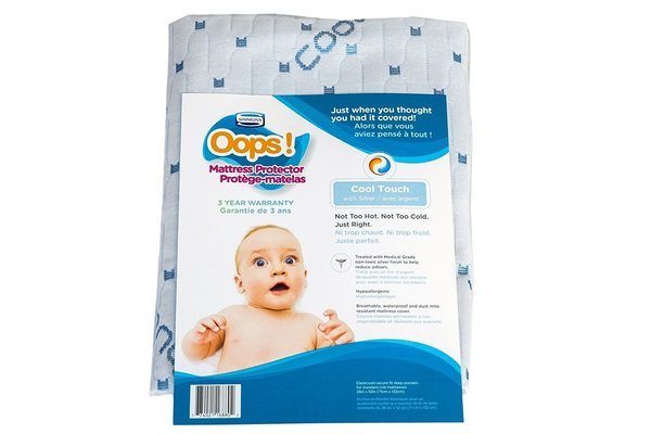 View larger image of Oops Cool Touch Mattress Protector