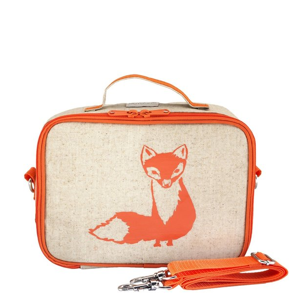 View larger image of Orange Fox Lunch Box