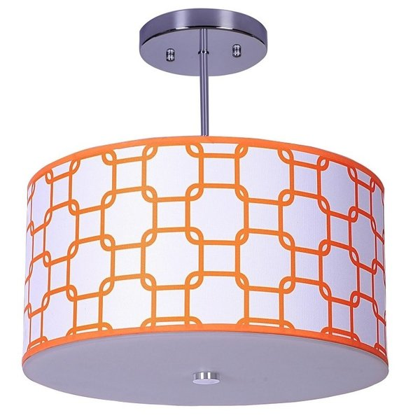 View larger image of Orange Links Ceiling Light