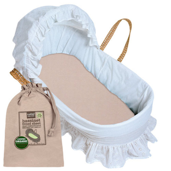 View larger image of Organic Bassinet Sheet
