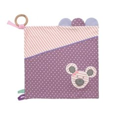 Organic Activity Blankie-Ballerina Mouse