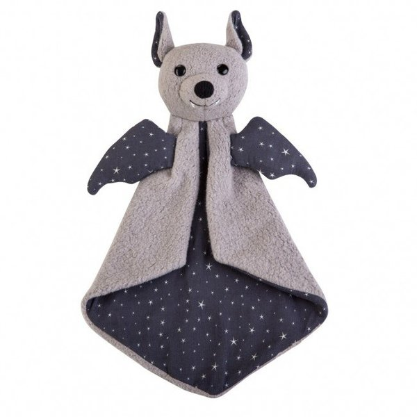 View larger image of Organic Pattern Blankie-Bat