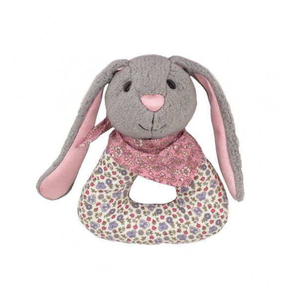 View larger image of Organic Pattern Rattle-Bunny