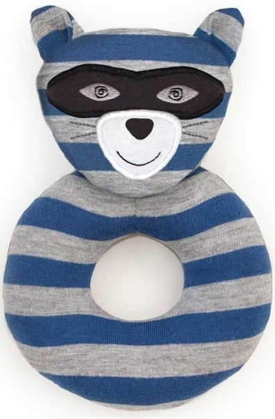 View larger image of Organic Rattle-Robbie Raccoon
