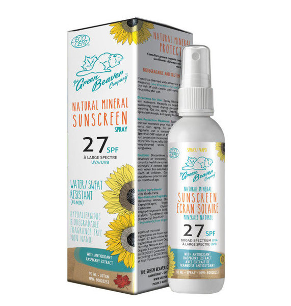 View larger image of Organic SPF 27 SPRAY Sunscreen