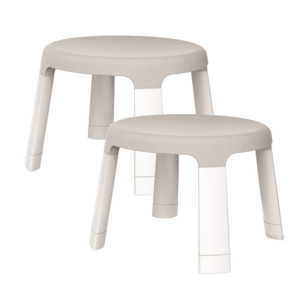 View larger image of PortaPlay Child Stools Wonderland Adventures - Grey