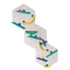 VertiPlay STEM Marble Run | Triple Fun Set of 3 - Crayon Edition