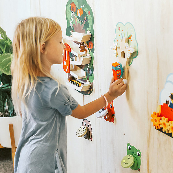 View larger image of VertiPlay Wall Toy - Busy Woodpecker