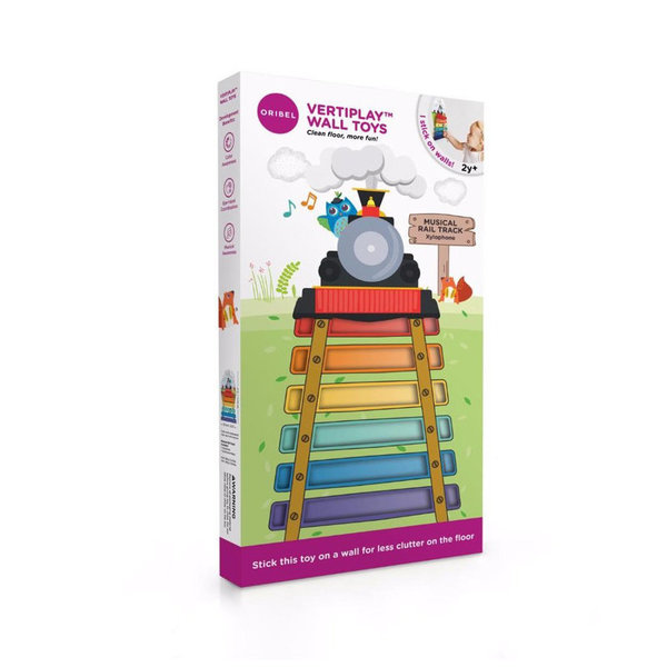 View larger image of VertiPlay Wall Toy - Musical Rail Track