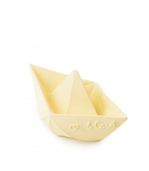 View larger image of Origami Boat Bath Toy - Vanilla