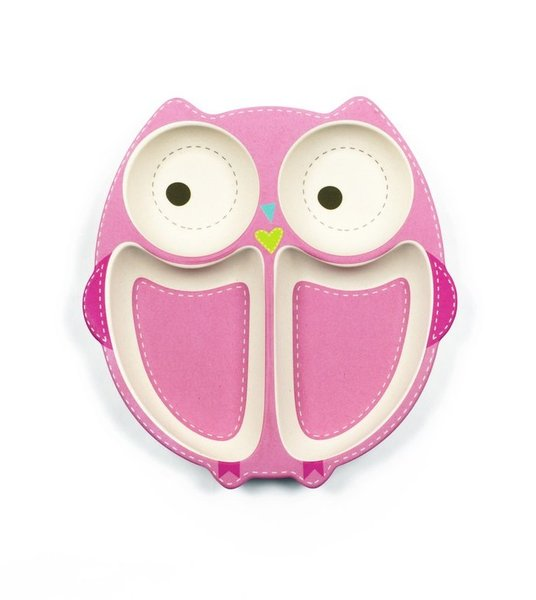 View larger image of Owl Plate - 2 Pack