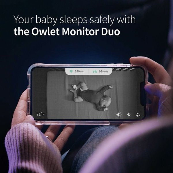 View larger image of Smart Sock & Cam Monitor Duo Gen 3