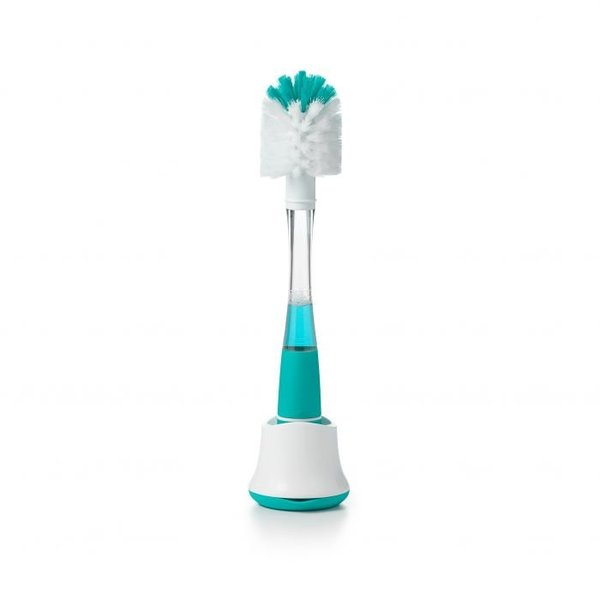 View larger image of Soap Dispensing Brush w/Stand