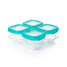 Baby Blocks Freezer Storage Containers - 6 oz