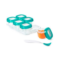 Baby Blocks Freezer Storage Containers - 4 oz