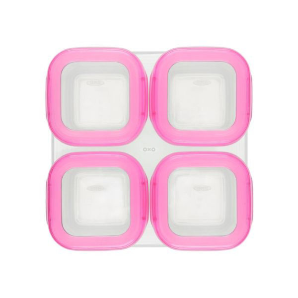 View larger image of Baby Blocks Freezer Storage Containers - 4 oz