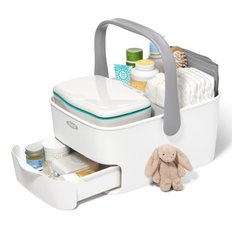 Diaper Caddy with Change Mat