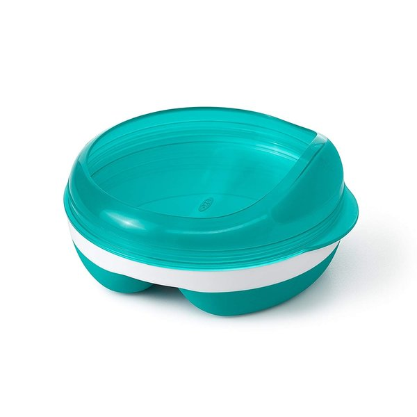 View larger image of Divided Feeding Dish - Teal