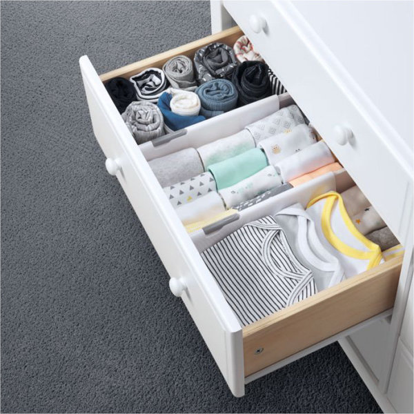 View larger image of Expandable Drawer Dividers - 2 Pack