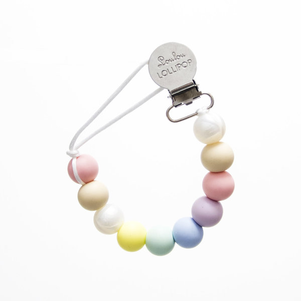 View larger image of Pacifier Clip - Cotton Candy