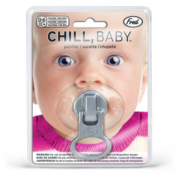 View larger image of Pacifier - Zip It