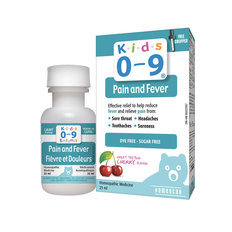 Kids 0-9 Pain & Fever - 25mL