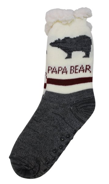 View larger image of Papa Bear Comfy Socks
