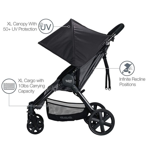 View larger image of Pathway Stroller - Sketch