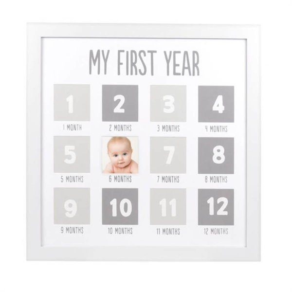 View larger image of Pearhead Baby's First Year Frame