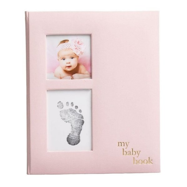 View larger image of Linen Babybook