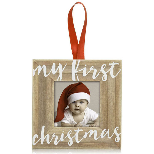 View larger image of My First Christmas Wooden Ornament